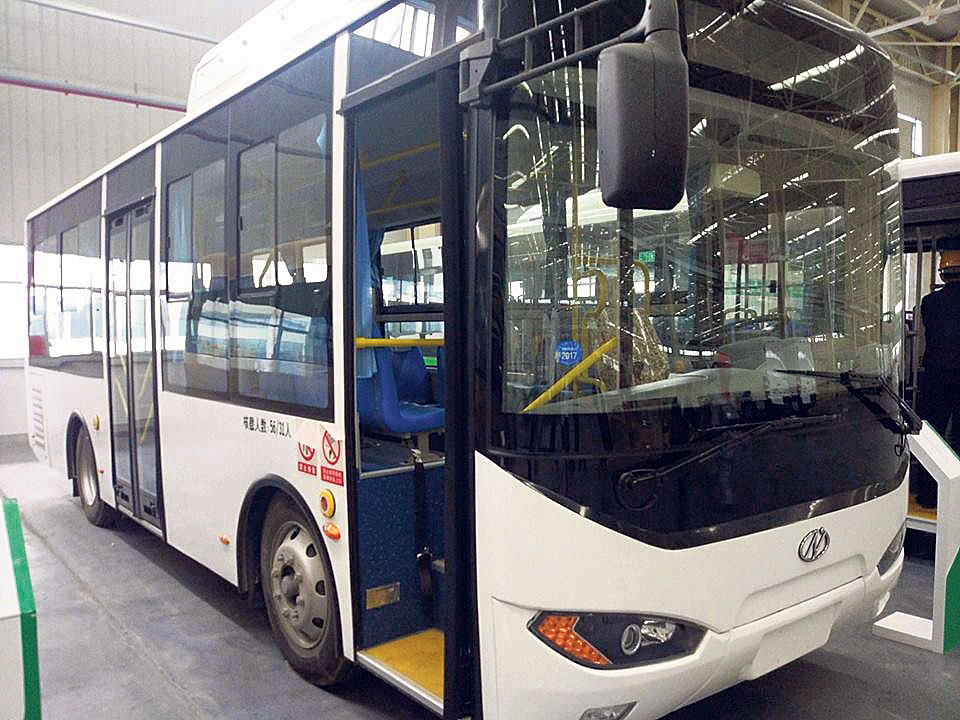 Nepal's first e-bus to be operated in the valley within three months