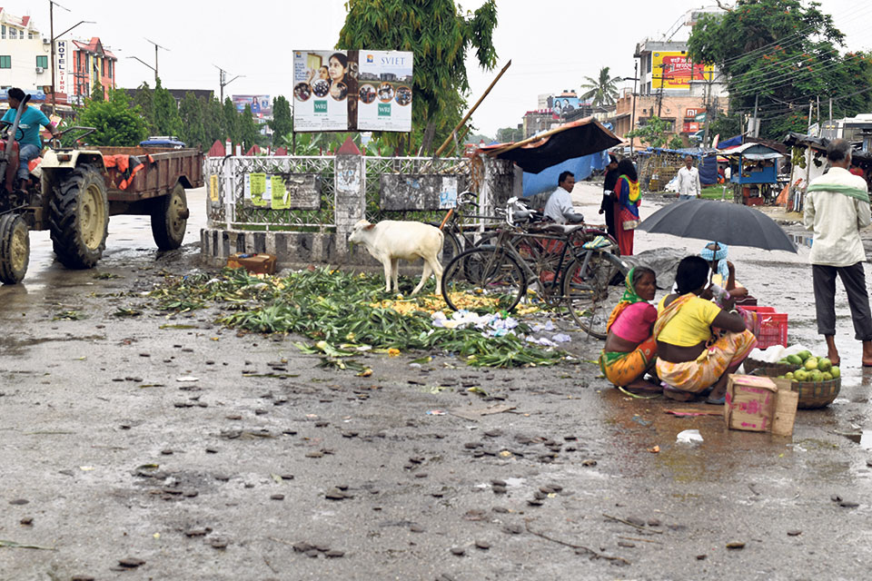 Mayor instructs not to collect garbage in Lahan: Locals