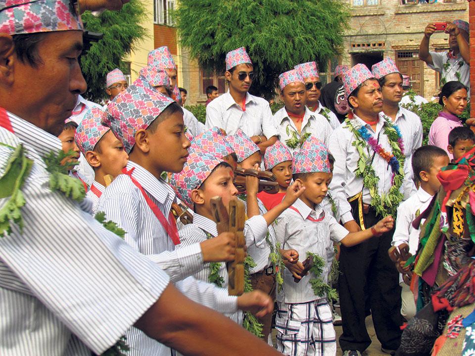 Exhausting yet exuberant Nyeku Jatra Mataya