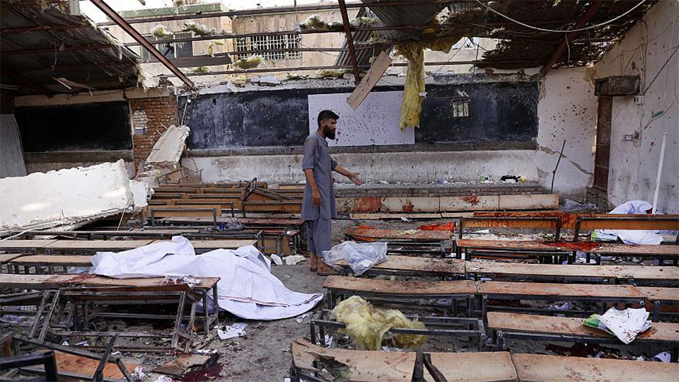 UPDATE: Bombing kills 48 college hopefuls in Afghanistan