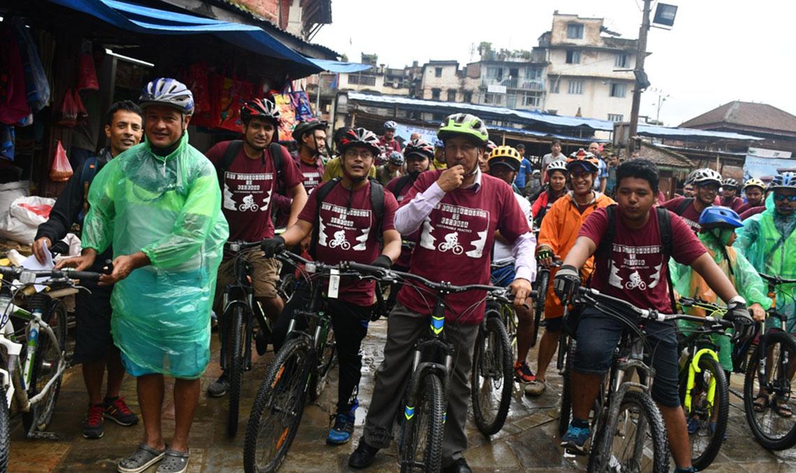 In pictures: Ride Kasthamandap to Khokana