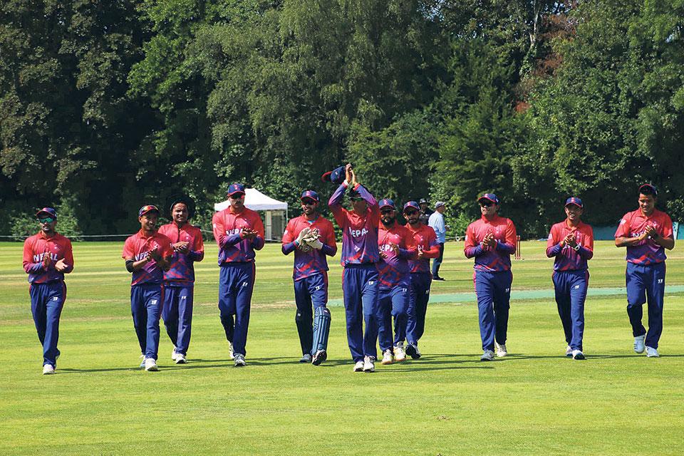 Nepal suffers 55-run defeat in first-ever ODI match