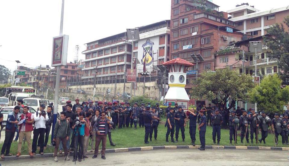 Protest in Maitighar Mandala demanding justice for Nirmala Pant (Photos)