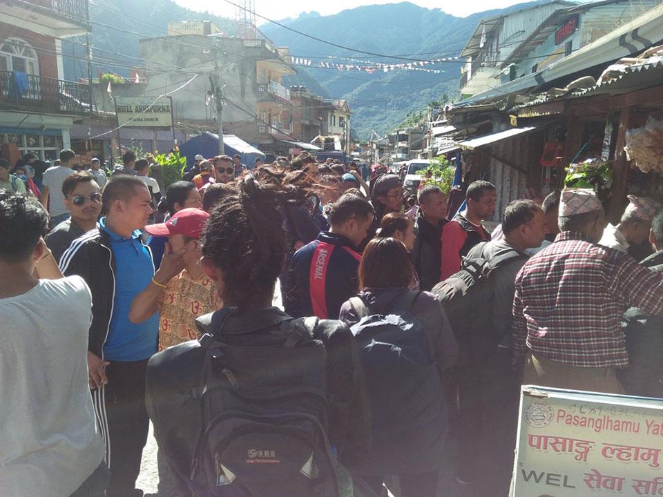 Gosainkunda pilgrims compelled for high transportation fare