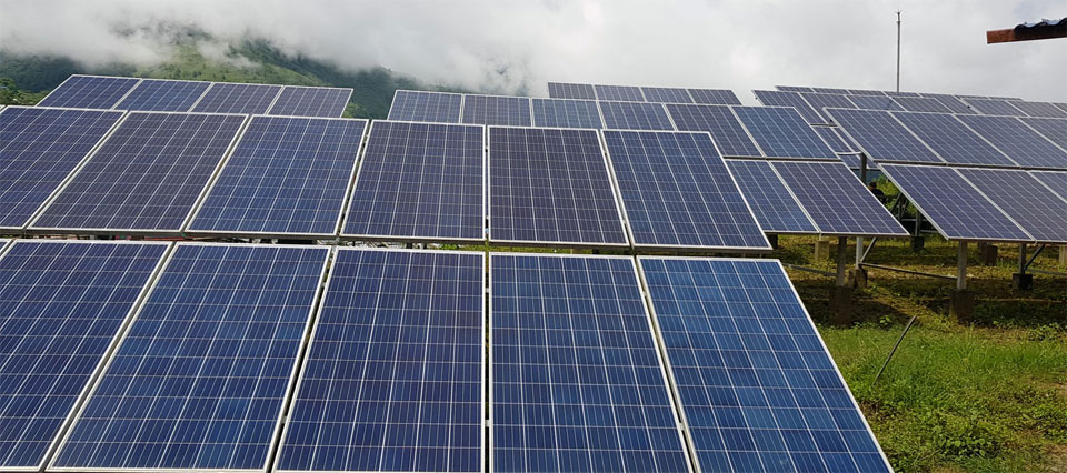 Solar mini grid project illuminates 75 households