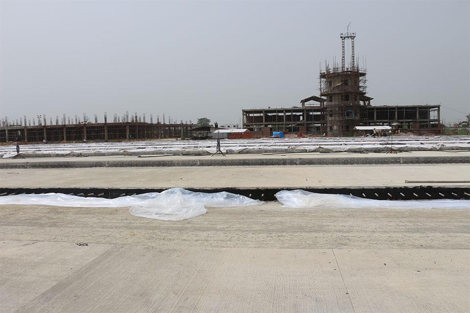 Gautam Buddha Int'l Airport construction gains momentum