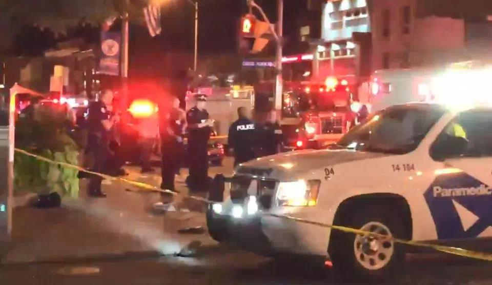 Gunman injures nine in Canadian city before shooting himself dead