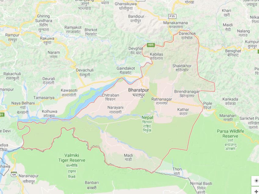 Chitwan tense as police fire teargas shells