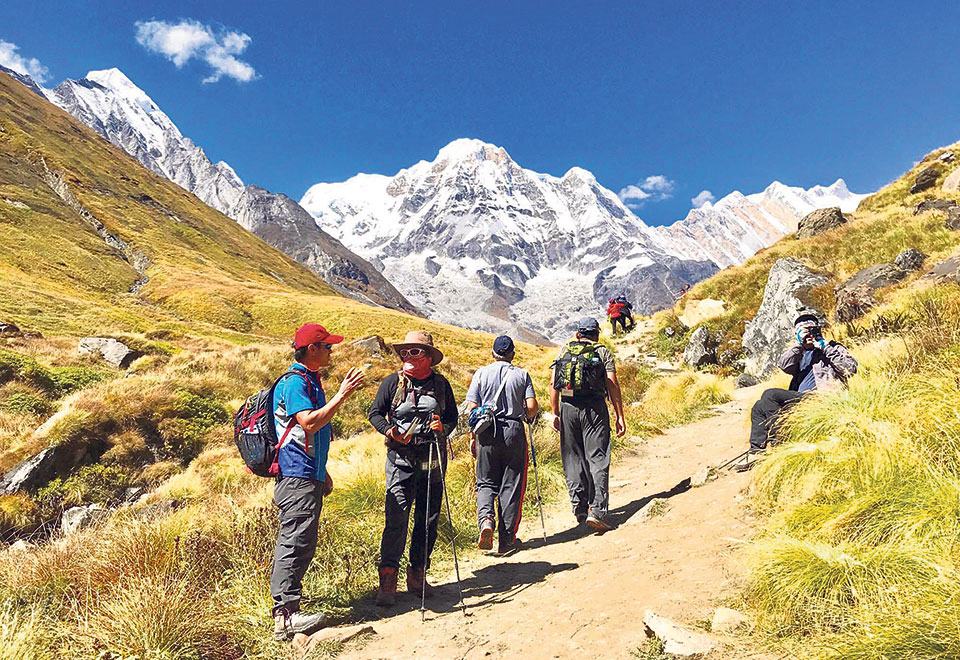 Trekking Trails on the rise