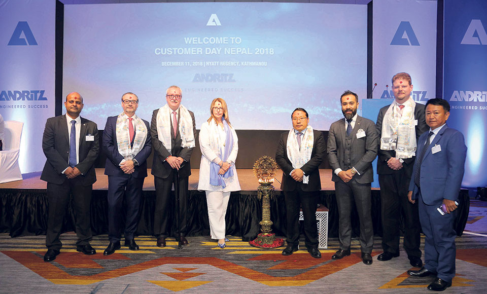 ANDRITZ organizes customer day in Nepal