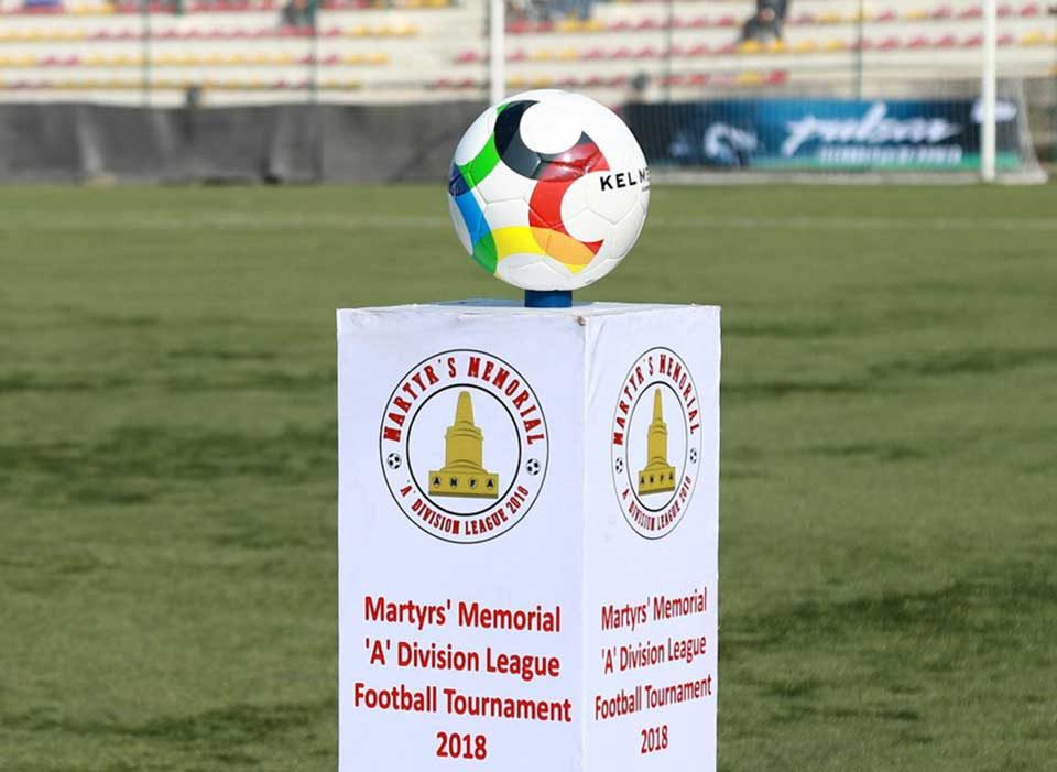 Martyr's Memorial A-Division League - Manang and Army remains undefeated