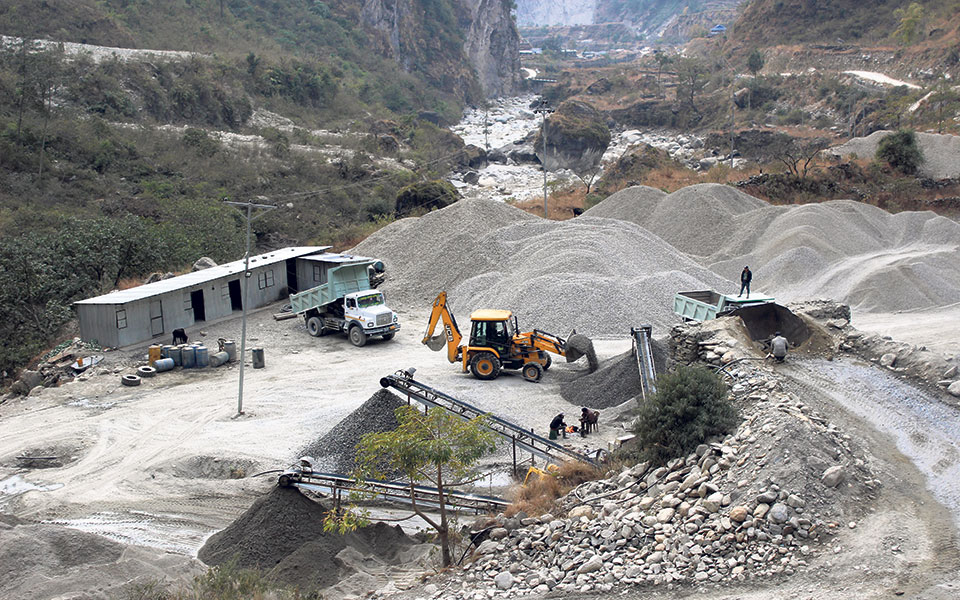 Illegal mining goes unabated in northern Myagdi