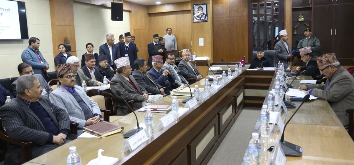 Task-force tables its report at Inter-State Council meet
