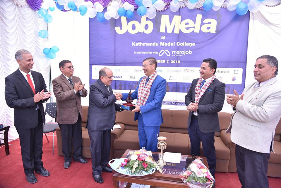KMC Education Networks organizes job fair