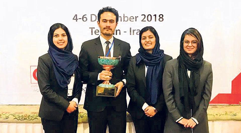 Kathmandu School of Law wins Regional Henry title