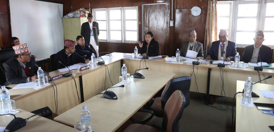 Parliament's finance committee discusses Melamchi Water Project