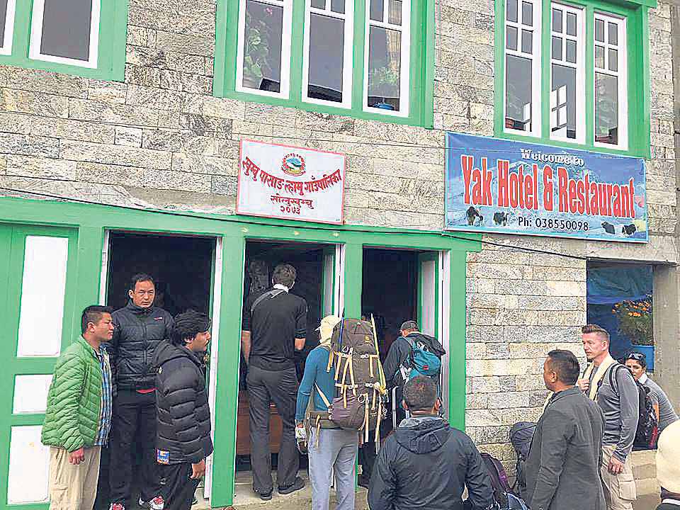 Khumbu Rural Municipality collects Rs 49.7 million in tourism fee
