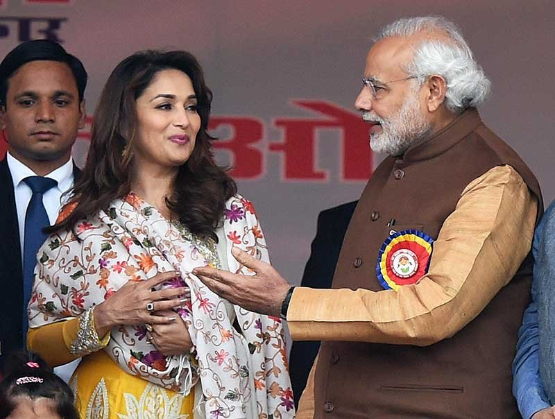 Madhuri Dixit in BJP's shortlist to contest from Pune in 2019