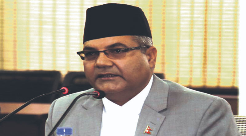 Media outlets practicing sadism by portraying others wrongly: Minister Baskota