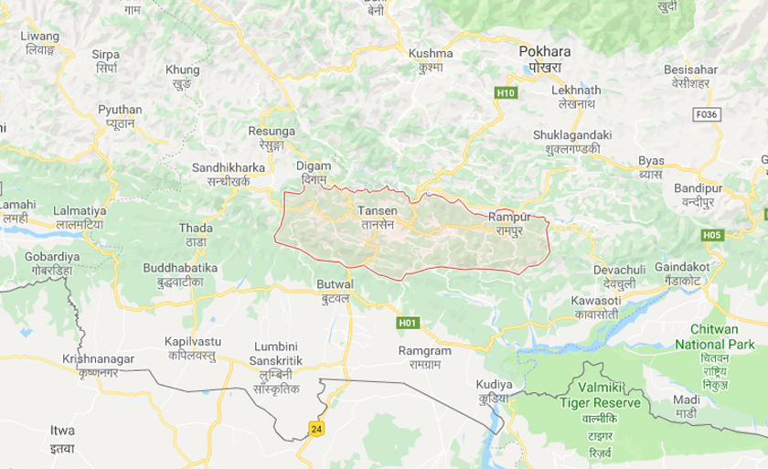 4 killed in Palpa jeep accident
