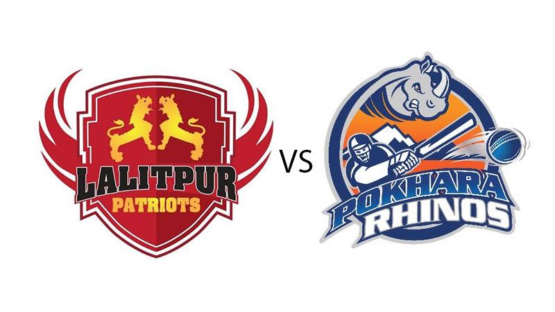 EPL 2018: Lalitpur Patriots thrashes Pokhara Rhinos by 8 wickets