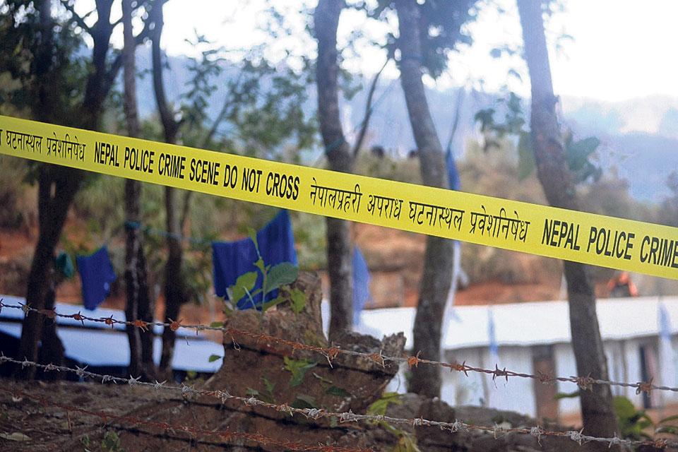 Police find 'murder clues' in Buddha Boy's ashram