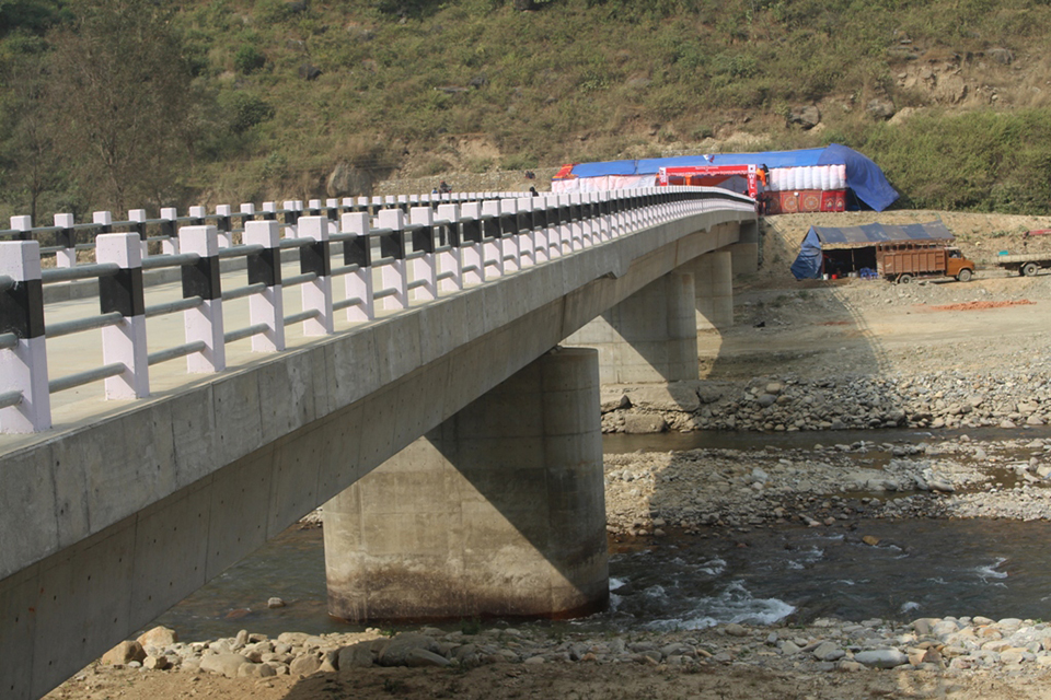 JICA completes five bridges two months before deadline