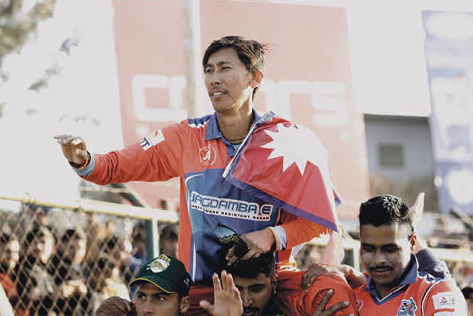 Nepali cricket legend Gauchan bids farewell to all forms of cricket