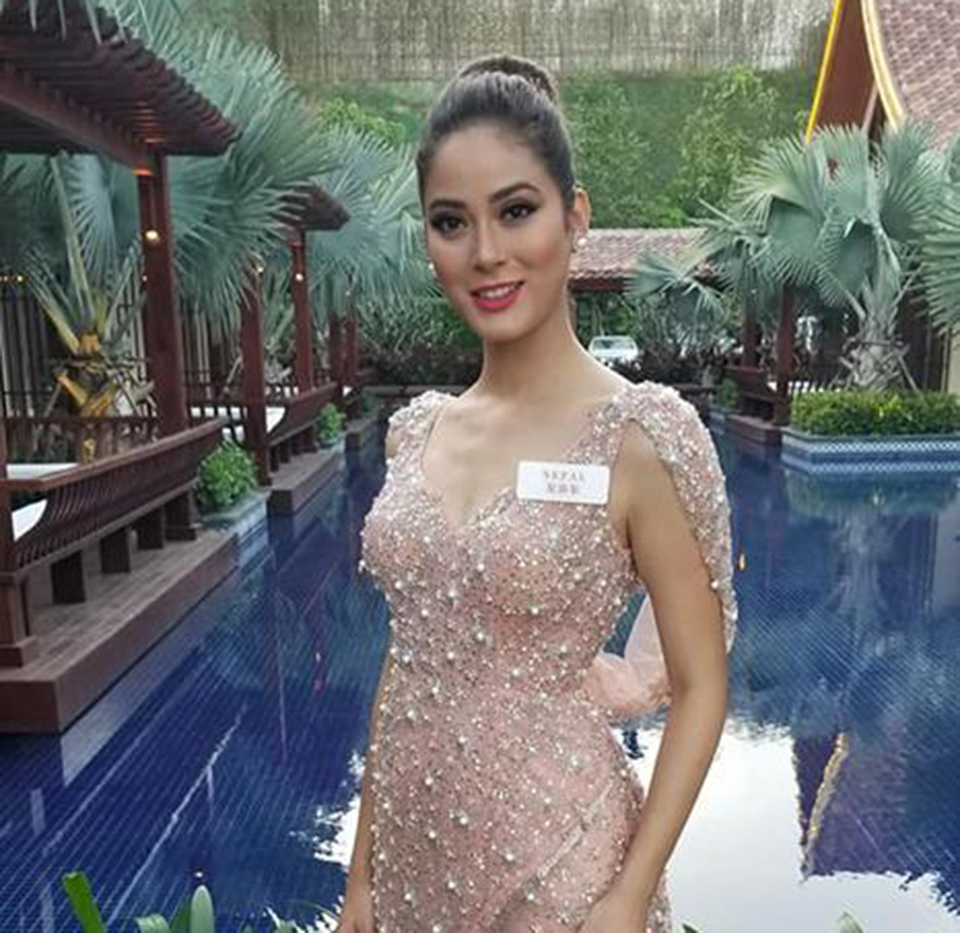 Khatiwada finally in Top 30 of Miss World 2018