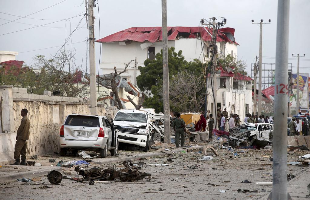 At least 13 killed in Mogadishu car bomb claimed by al Shabaab