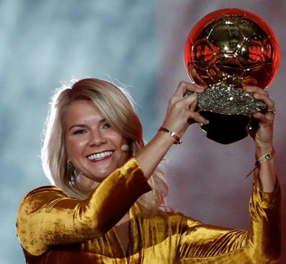 Hegerberg Ballon d'Or award tarnished by 'twerk' request