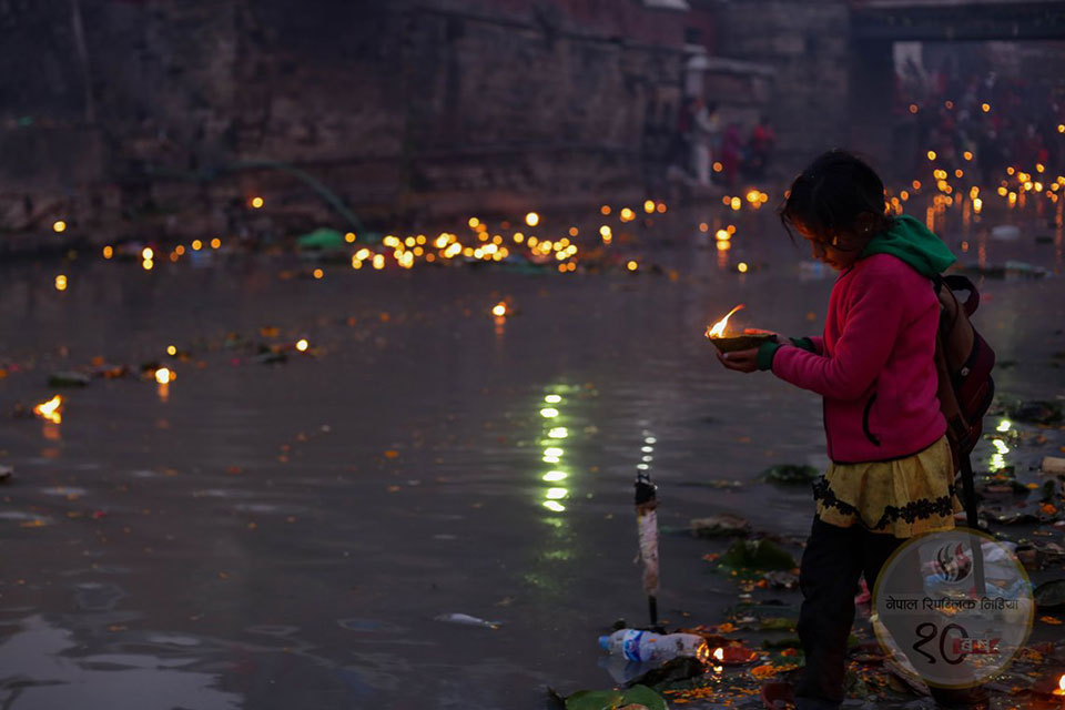 In Pictures: Devotees observe Bala Chaturdashi at Pashupatinath