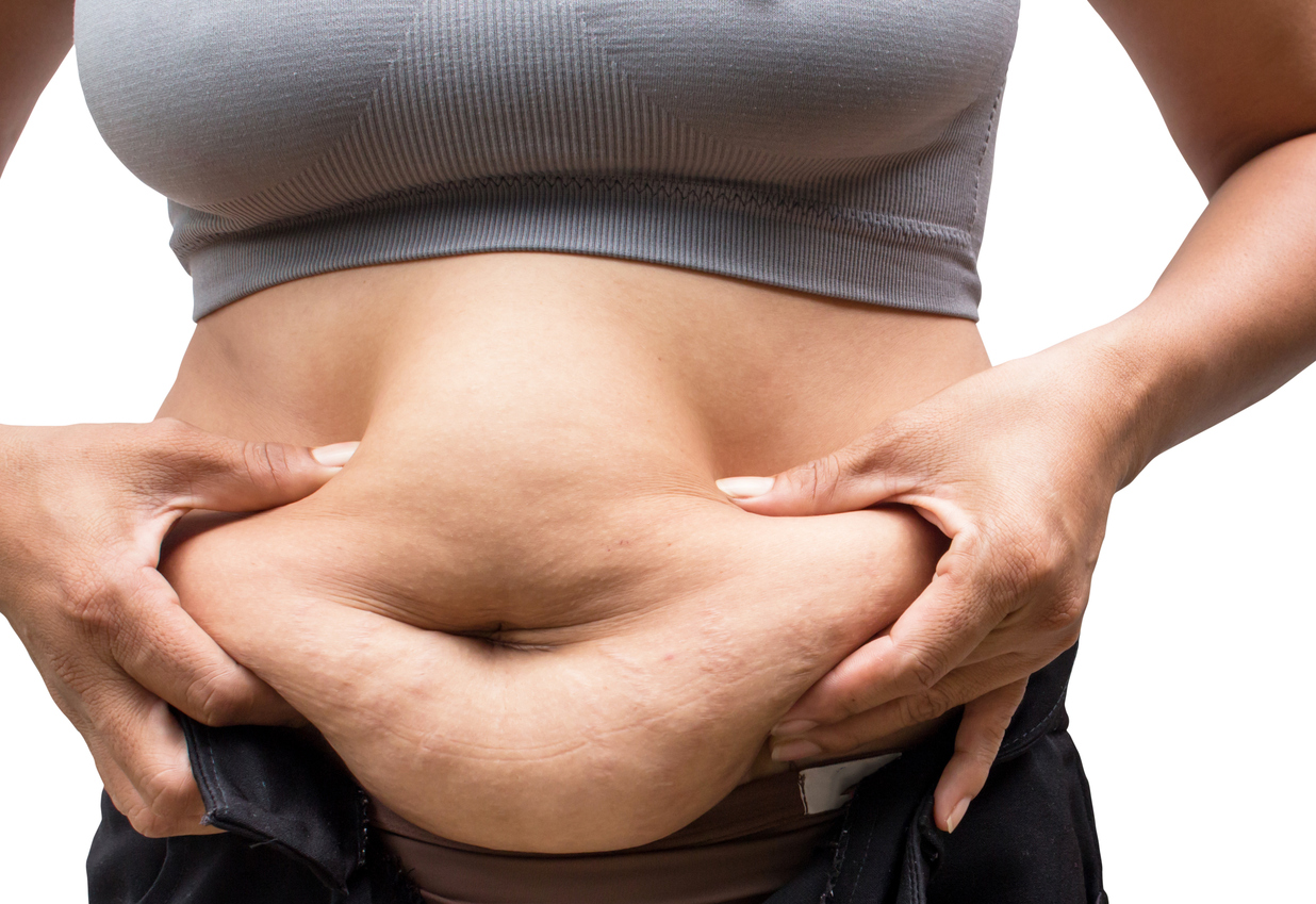 Belly fat increases risk of breast cancer despite normal BMI, study finds