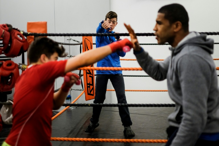 Near-blind ex-boxer puts troubled kids on right path