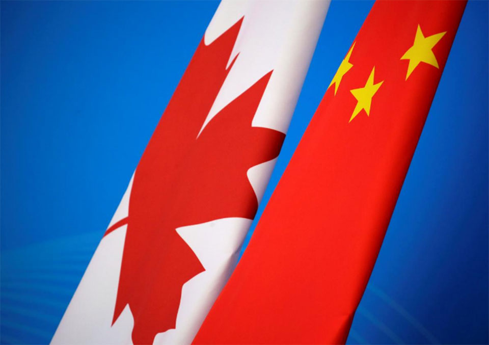 China accuses Britain, EU of hypocrisy over Canada detentions concerns