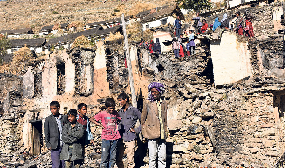 Relief pour in for Kalikot fire victims