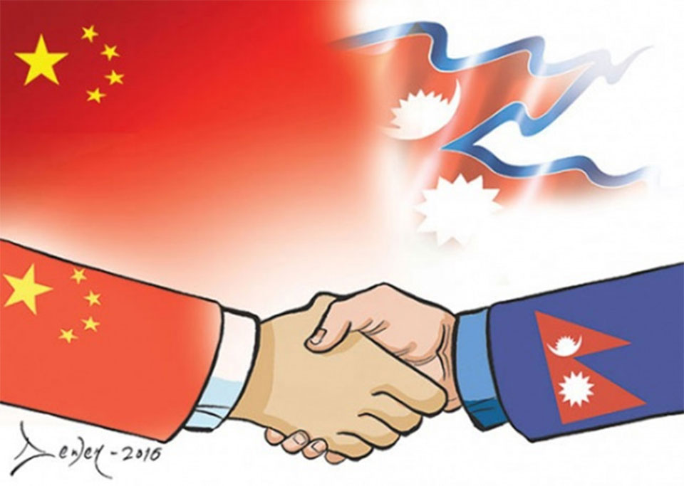 12th meeting of Nepal-China Bilateral Consultation Mechanism being held