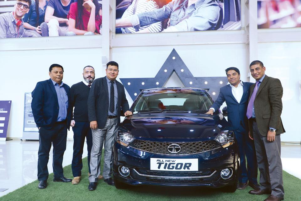 Tata Motors launches all-new Tata Tigor in Nepal