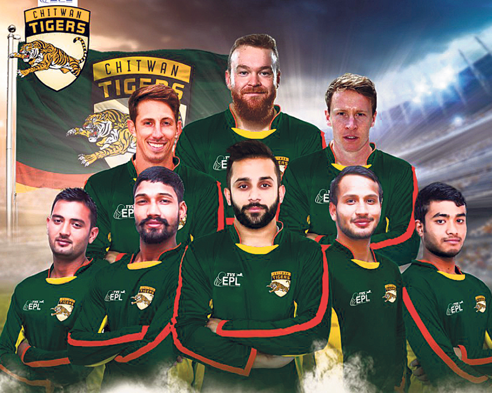 Chitwan Tigers and Tensberg sign sponsorship deal