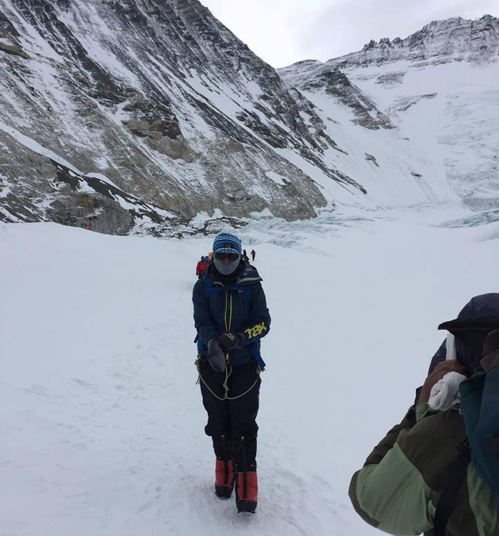 Journo Doma Sherpa scales Mt. Everest