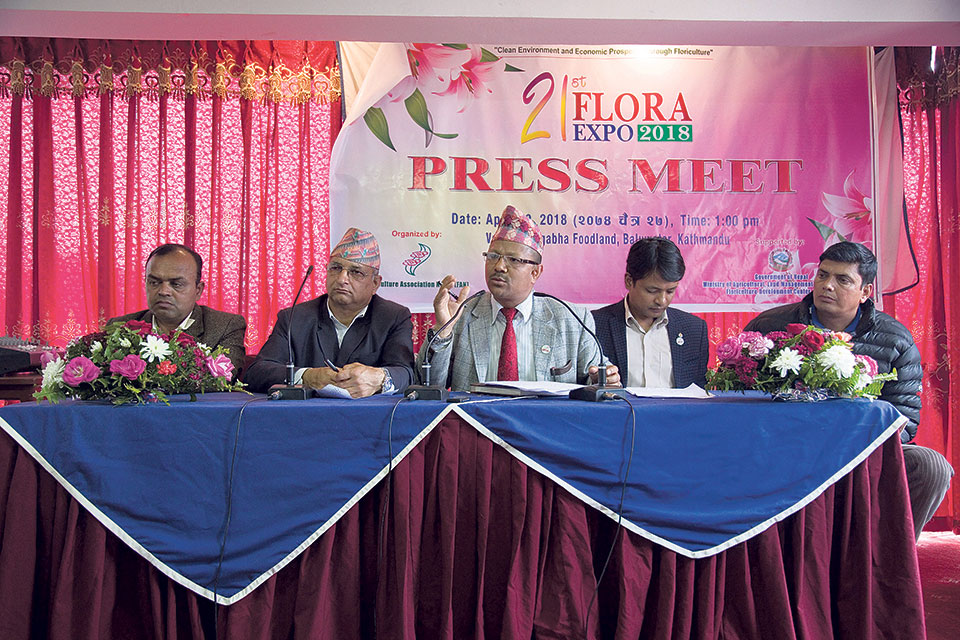 Flora Expo to be held in Kathmandu from Friday