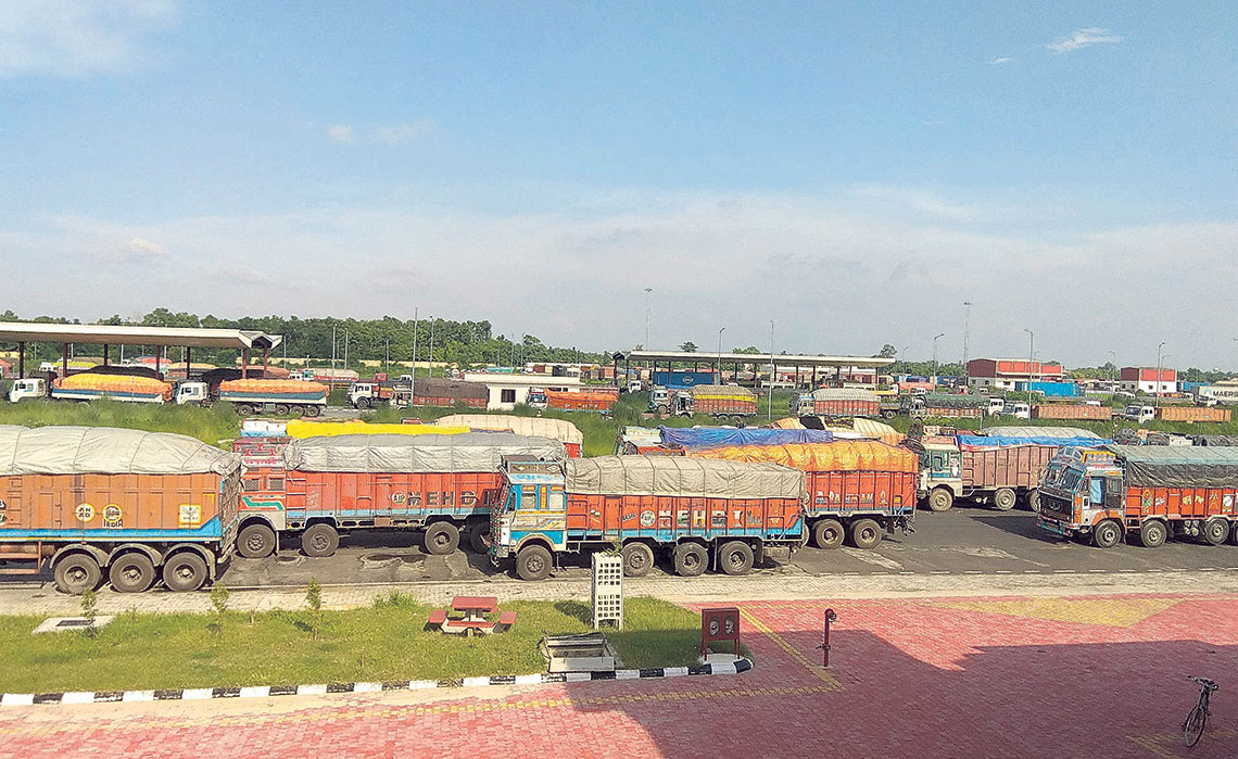 Trade activities gaining momentum at Birgunj ICP