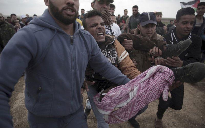 7 Palestinians killed by Israel fire on Gaza border