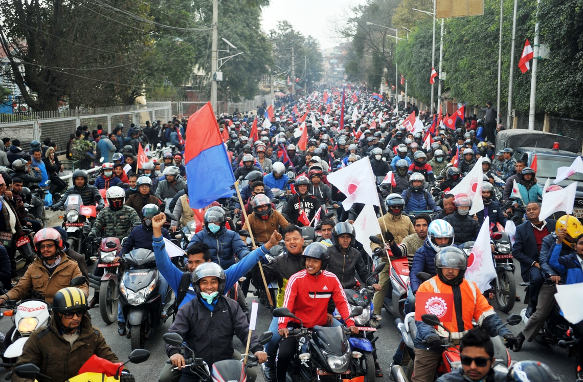 In pictures: UML's motorcycle rally
