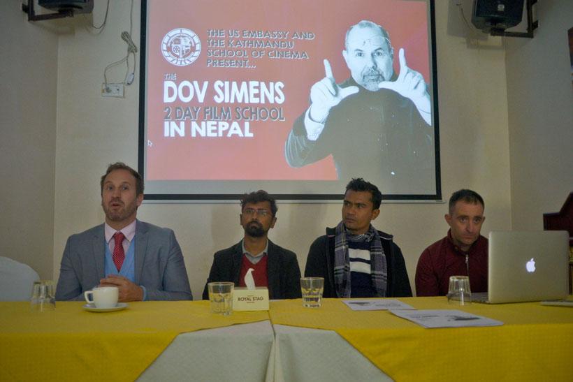 The Dov Simens' two-day film school