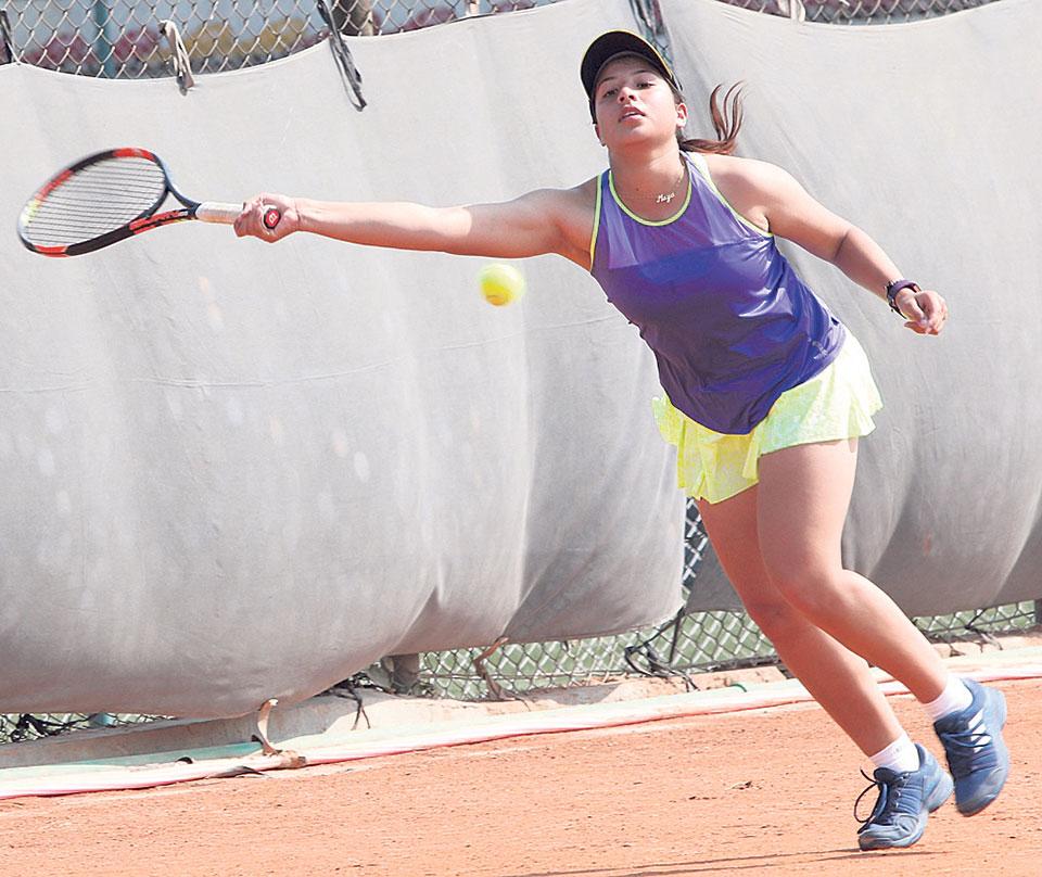 Mayanka becomes first Nepali female to reach ITF quarters