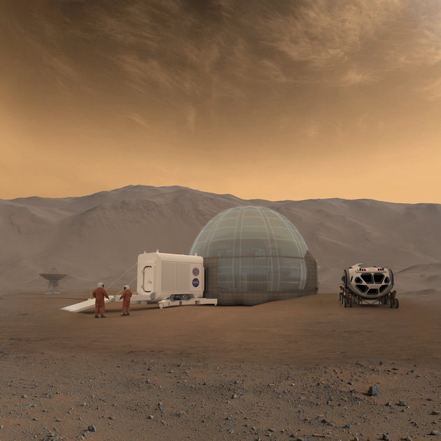 NASA planning to build ice house on Mars: Report