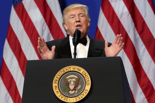 Trump cancels U.S. delegation to Davos forum: press secretary