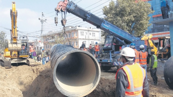Melamchi Project intensifies pipe installation works