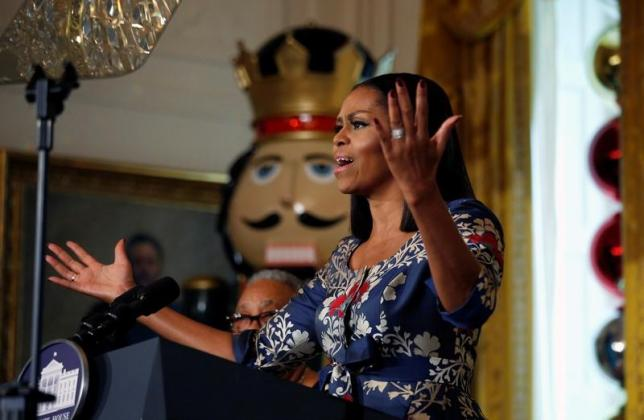 In emotional farewell speech, Michelle Obama praises diversity (With video)